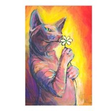 Sphynx cat 20  Postcards (Package of 8)