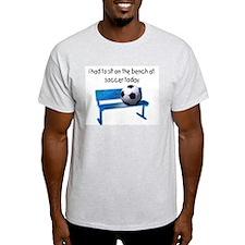 Soccer Bench Ash Grey T-Shirt