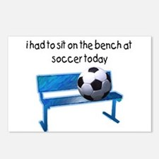 Soccer Bench Postcards (Package of 8)