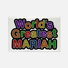 World's Greatest Mariah Rectangle Magnet