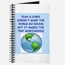 fish and chips Journal
