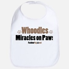 Whoodle dog Bib