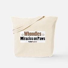 Whoodle dog Tote Bag