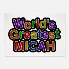 World's Greatest Micah 5'x7' Area Rug