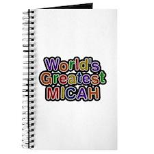World's Greatest Micah Journal