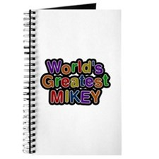 World's Greatest Mikey Journal