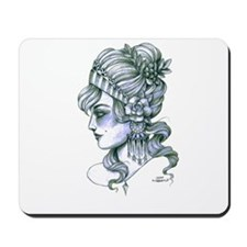 Gypsy Girl (transparent background) Mousepad