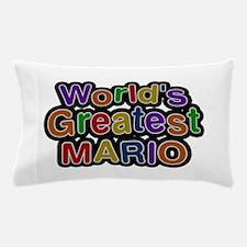 World's Greatest Mario Pillow Case