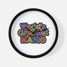 World's Greatest Mario Wall Clock