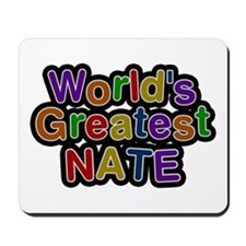 World's Greatest Nate Mousepad