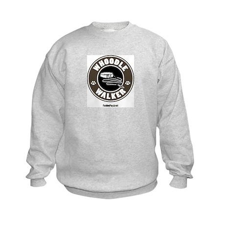 Whoodle dog Kids Sweatshirt