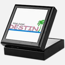 Visit Scenic Destin, Florida Keepsake Box