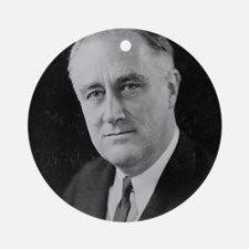FDR Ornament (Round)