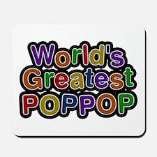 World's Greatest Poppop Mousepad