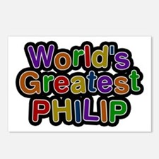 World's Greatest Philip Postcards 8 Pack