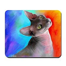 Sphynx Cat 21  Mousepad