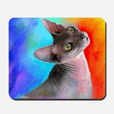 Sphynx Cat 21  Mousepad