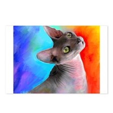 Sphynx Cat 21  Postcards (Package of 8)