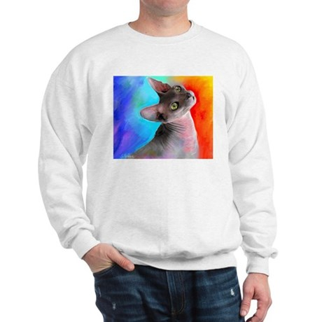 Sphynx Cat 21 Sweatshirt