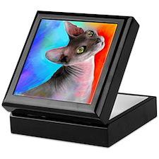 Sphynx Cat 21 Keepsake Box