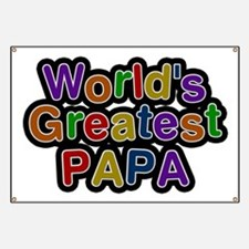 World's Greatest Papa Banner