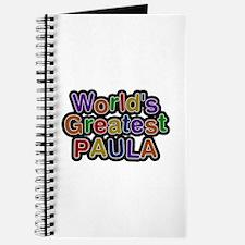 World's Greatest Paula Journal