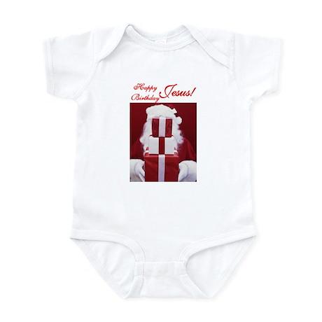 Happy Birthday Jesus Infant Bodysuit