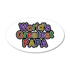 World's Greatest Papa Wall Decal