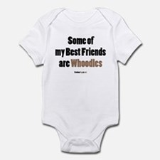 Whoodle dog Infant Bodysuit