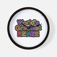 World's Greatest Renee Wall Clock