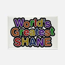 World's Greatest Shane Rectangle Magnet