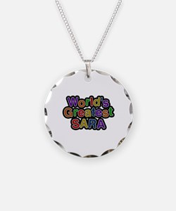 World's Greatest Sara Necklace