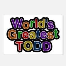 World's Greatest Todd Postcards 8 Pack