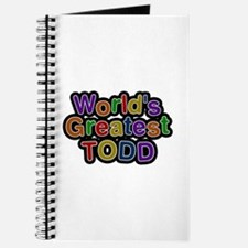 World's Greatest Todd Journal