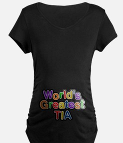 World's Greatest Tia T-Shirt
