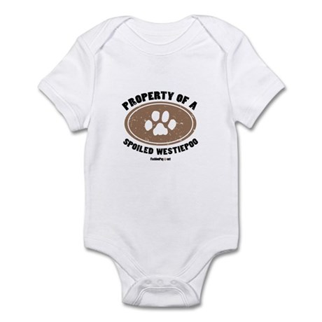 Westiepoo dog Infant Bodysuit
