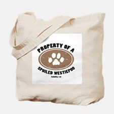 Westiepoo dog Tote Bag