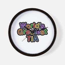 World's Greatest Tia Wall Clock