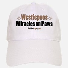 Westiepoo dog Baseball Baseball Cap