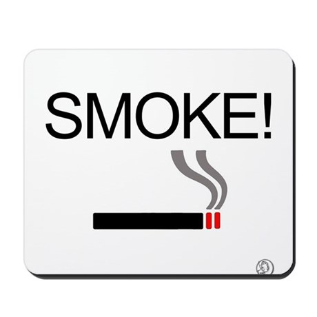 Smoke Mousepad