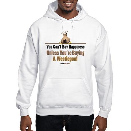 Westiepoo dog Hooded Sweatshirt