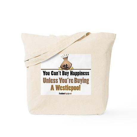 Westiepoo dog Tote Bag
