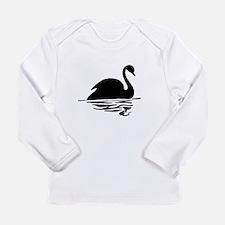 Black Swan Silhoutte Long Sleeve T-Shirt