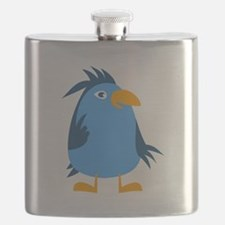 Cartoon Bird Flask