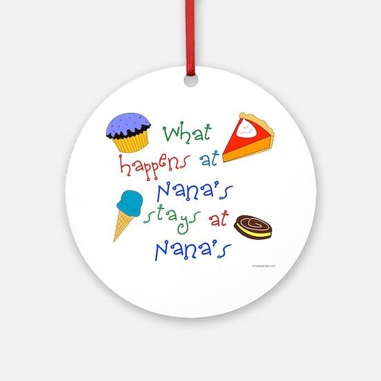 New Nana Ornament (Round)