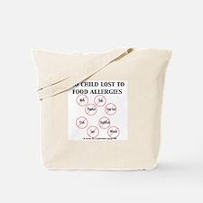 Unique Nut allergy Tote Bag