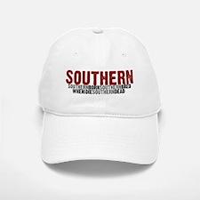 SOUTHERN BORN Baseball Baseball Cap
