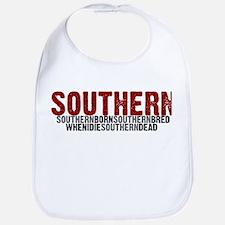 SOUTHERN BORN Bib