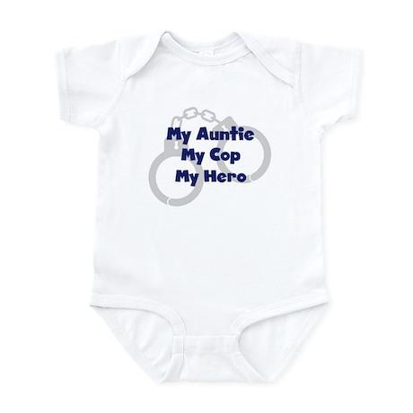 My Auntie My Cop Infant Bodysuit