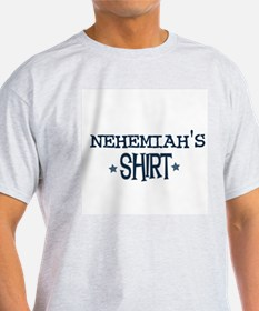 Nehemiah Ash Grey T-Shirt